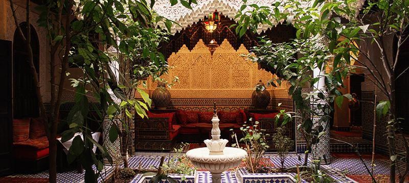 Location Riad Marrakech - Riad babchems